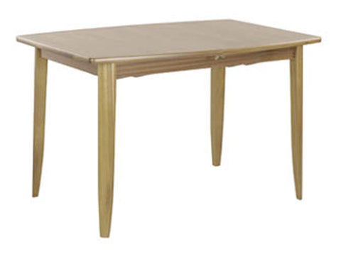 Nathan Shades Oak Small Boat Shaped Dining Table on Legs