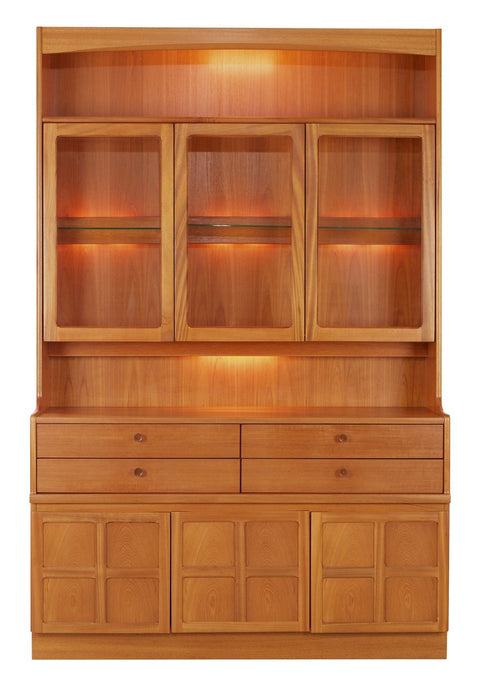 Nathan Teak Display Combination Unit