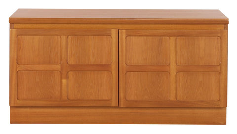 Nathan Teak Double Low Storage Unit