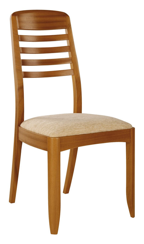 Nathan Teak Ladder Back Dining Chair