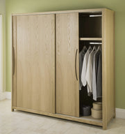 Oslo Bedroom Collection Sliding Door Wardrobe