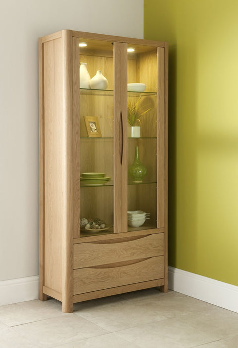 Oslo Living & Dining Collection Tall Display Cabinet