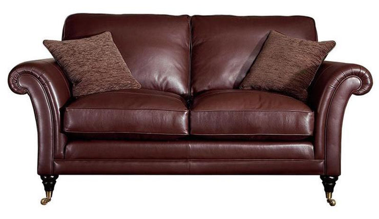 Parker Knoll Burghley Leather 2 Seater Sofa