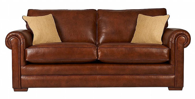 Parker Knoll Canterbury Leather 2 Seater Sofa
