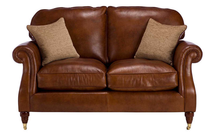 Parker Knoll Westbury Leather 2 Seater Sofa
