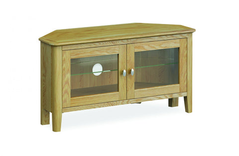 Priory Oak Dining Collection Corner TV Unit