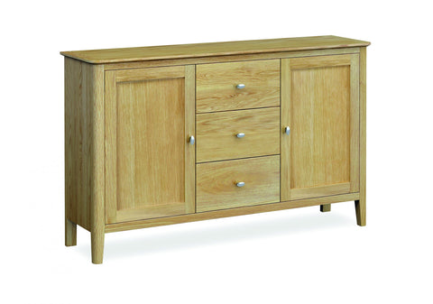 Priory Oak Dining Collection Large Sideboard