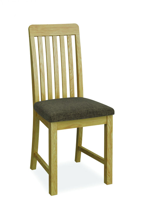 Priory Oak Dining Collection Slatted Dining Chair