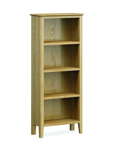 Priory Oak Dining Collection Slim Bookcase