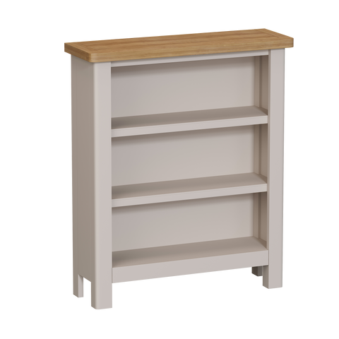Croft Dining Collection Small Wide Bookcase