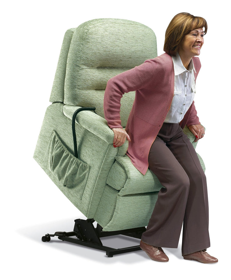 Sherborne Keswick Fabric Electric Lift & Rise Chair