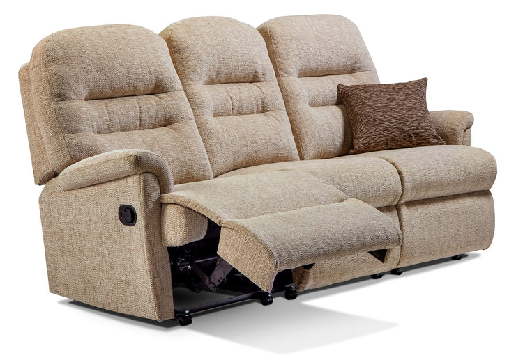 Sherborne Keswick Fabric Reclining 3 Seater Sofa