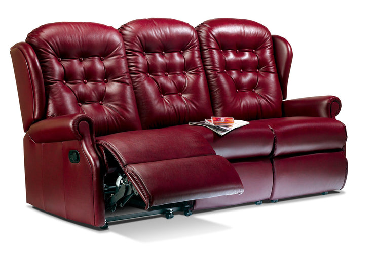 Sherborne Lynton Leather 3 Seat Recliner