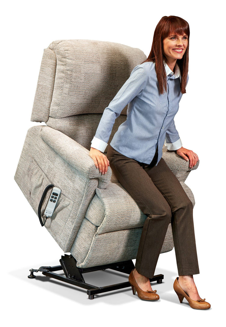 Sherborne Nevada Fabric Electric Lift & Rise Chair