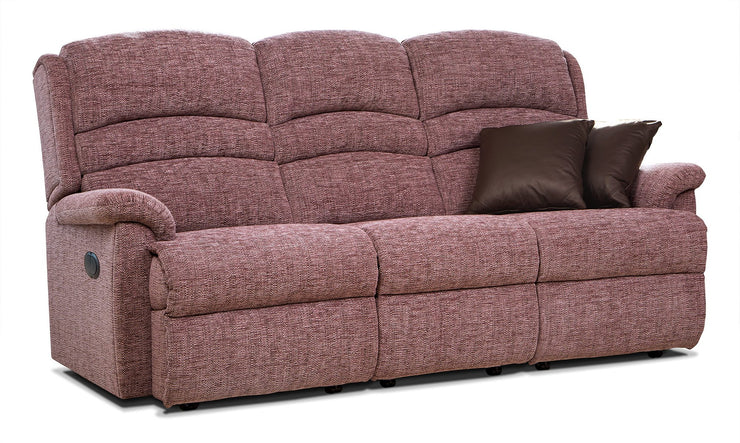 Sherborne Olivia Fabric Fixed 3 Seater Sofa