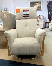 Ercol Ginosa Swivel Recliner Chair - EX SHOWROOM TO CLEAR