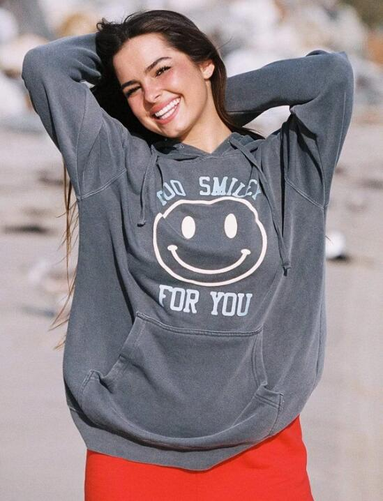Too Smiley For You Vintage Hoodie