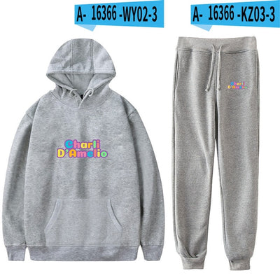 Charli Damelio Merch Sportsuit Sweatshirt