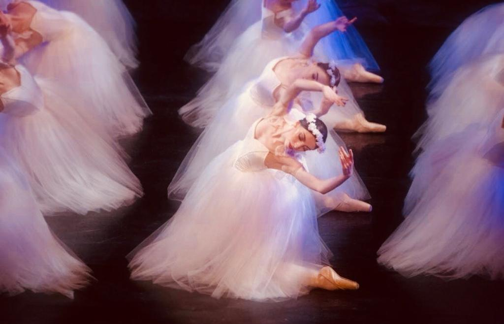 Ballet West Scotland's Giselle - Class Act Tutu's Sweetheart Bodice and Romantic Skirts