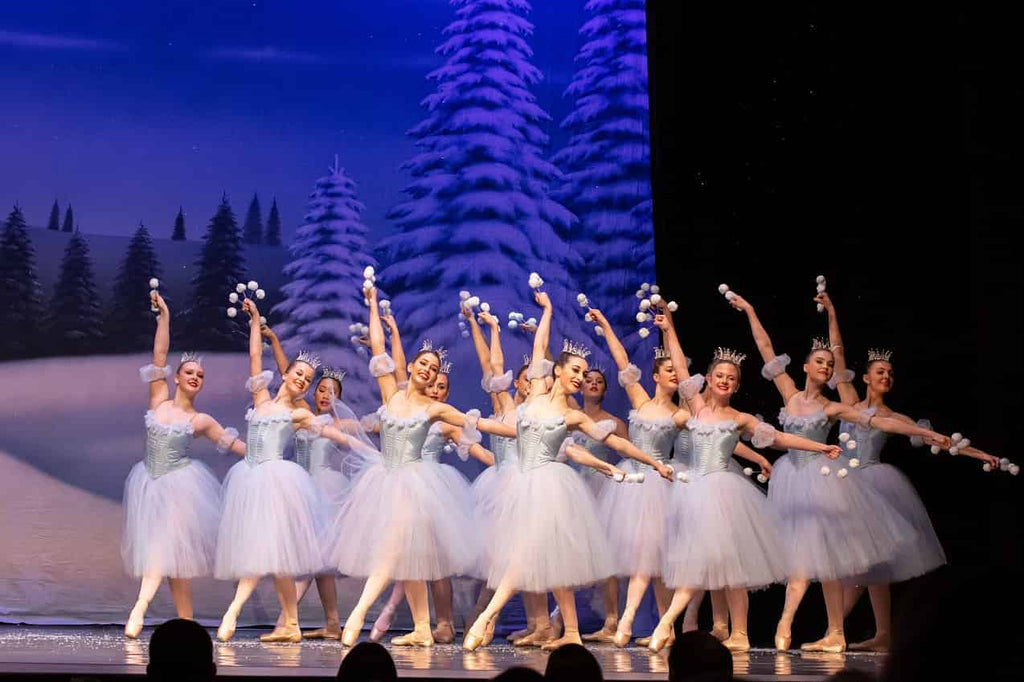 Dance Conservatory Charleston Snowflakes in the Nutcracker Ballet