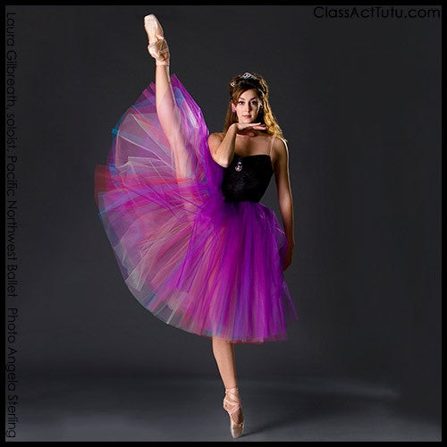 Color Layered Romantic Tutu