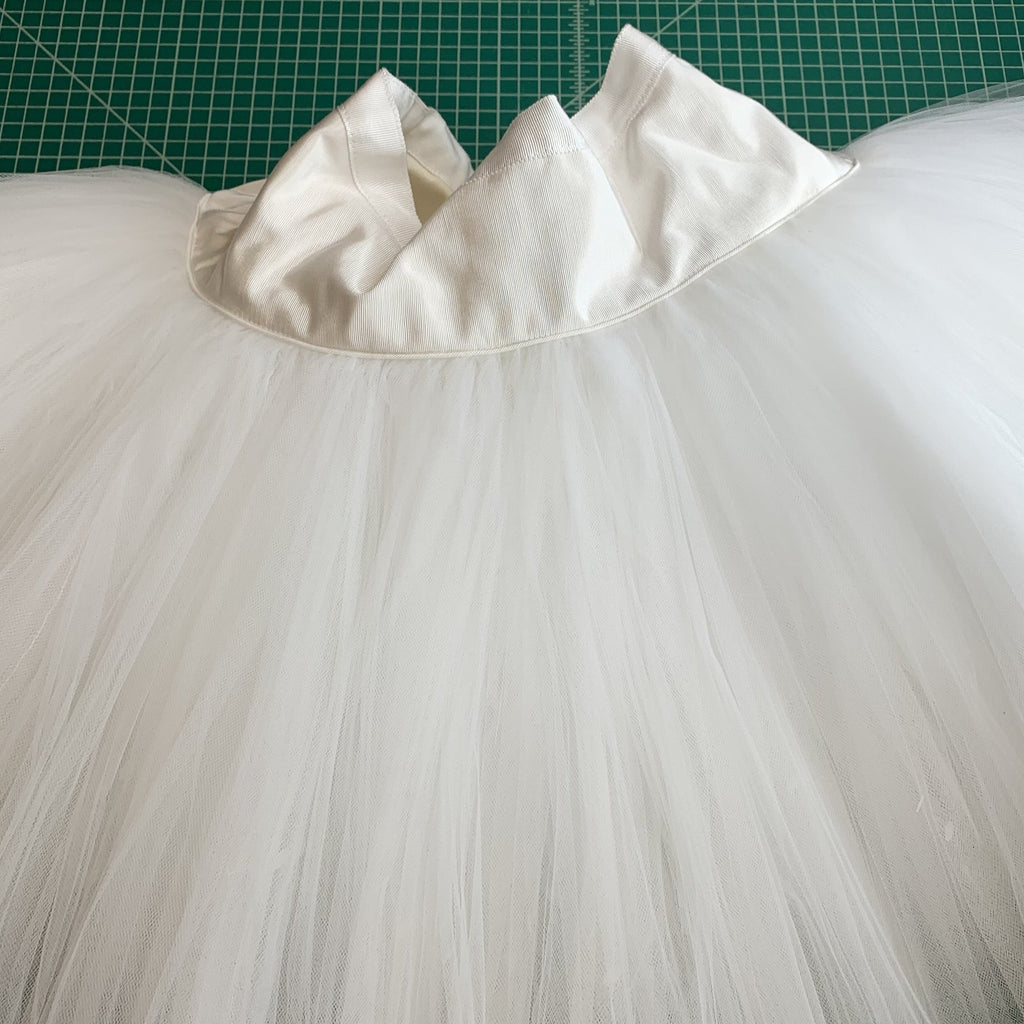 Sample Sale: Classical Tutu Skirt, White, Size L