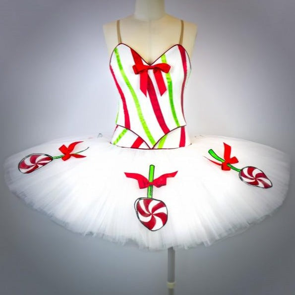 Peppermint Candy Lollipop Tutu