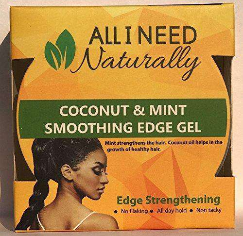 All I Need Naturally Coconut & Mint Smoothing Edge Gel