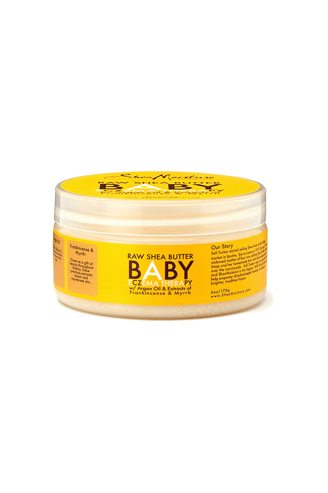 Shea Moisture Baby Raw Shea Butter & Argan Oil Eczema Therapy