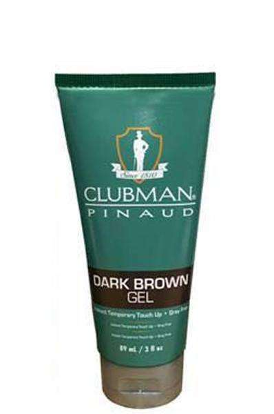 Clubman Pinaud Instant Touch Up Gel - Dark Brown