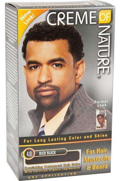 Crème Of Nature Mens Hair Colour - Rich Black