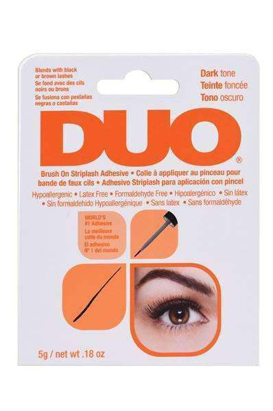 DUO Brush On Strip Lash Adhesive Dark Tone