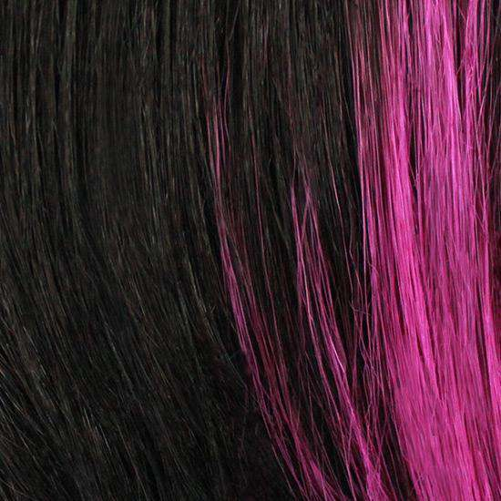 H1B/PINK - Off Black w/ Pink (Highlights)