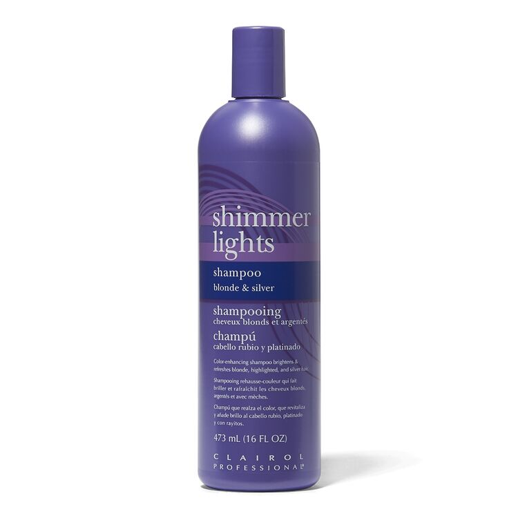 Clairol Professional Shimmer Lights Purple Shampoo for Blonde & Silver Hair 16oz
