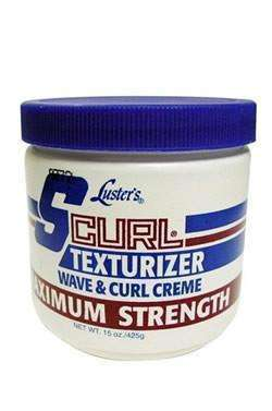 S Curl Texturizer Wave & Curl Creme - Maximum Strength