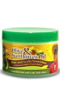Sofn'free Pretty Olive & Sunflower Oil Hair & Scalp Nourisher