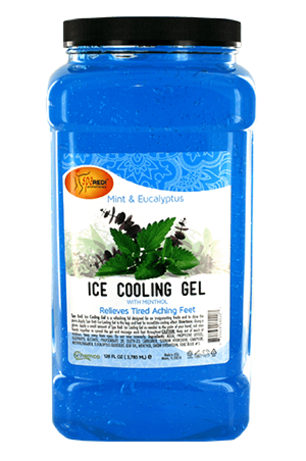 Spa Redi Mint & Eucalyptus Ice Cooling Gel 1 Gallon