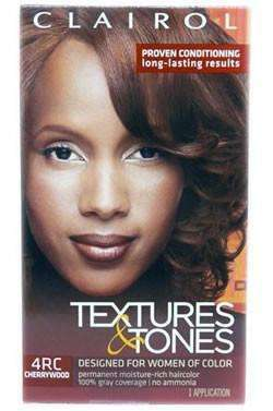 Textures & Tones Permanent Hair Color - 4RC Cherrywood