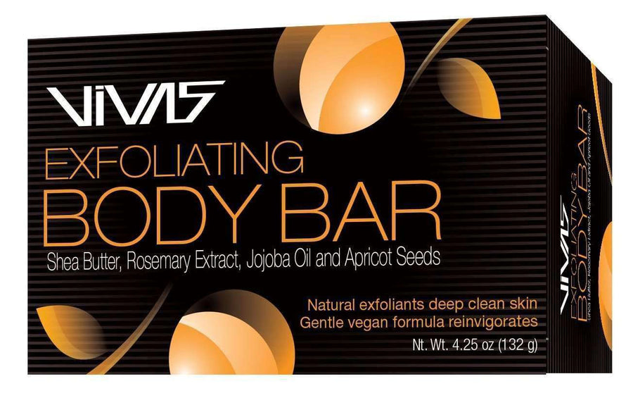 Ampro VIVAS Exfoliating Body Bar