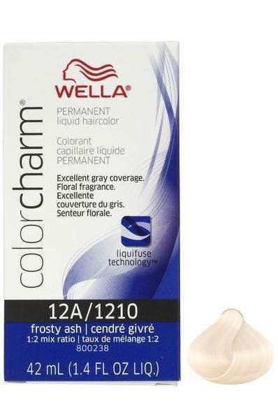 Wella Color Charm Permanent Liquid Hair Color - 12A/1210 Frosty Ash - L.A. Beauty Supply