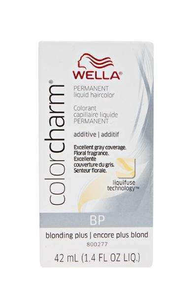 Wella Color Charm Permanent Liquid Hair Color Additive - BP Blonding Plus - L.A. Beauty Supply