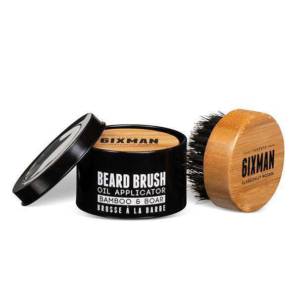 6ix Man Bamboo & Boar Bristle Beard Brush - L.A. Beauty Supply