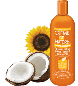 Crème Of Nature Sunflower & Coconut Detangling Conditioning Shampoo 32oz