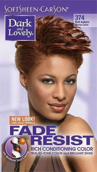 Dark & Lovely Fade Resistant Rich Conditioning Color- #374 Rich Auburn - Deluxe Beauty Supply
