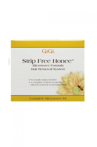 GiGi All Strip Free Honee Microwave Formula Hair RemovalnKit