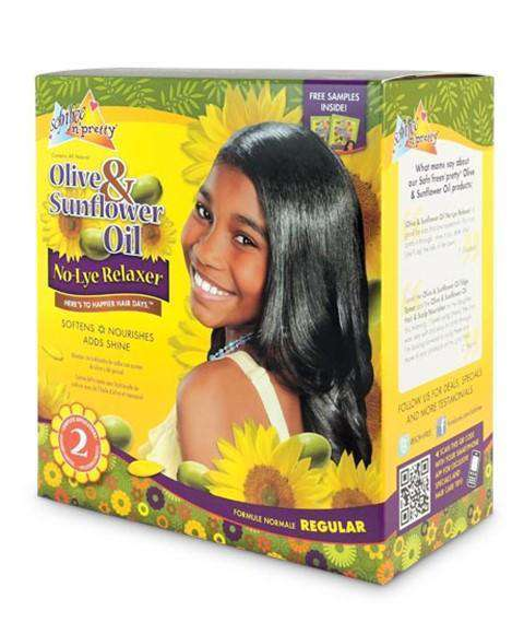 Sofn'free N' Pretty Relaxer Double Pack - Regular