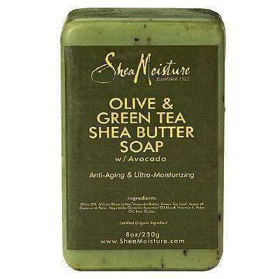 Shea Moisture Olive & Green Tea Shea Butter Soap Bar
