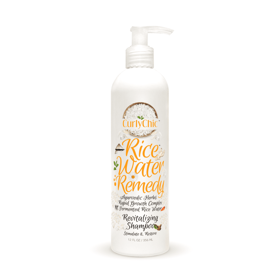 Curly Chic Rice Water Revitalizing Shampoo