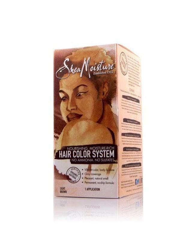 Shea Moisture Nourishing Hair Color System - Light Brown