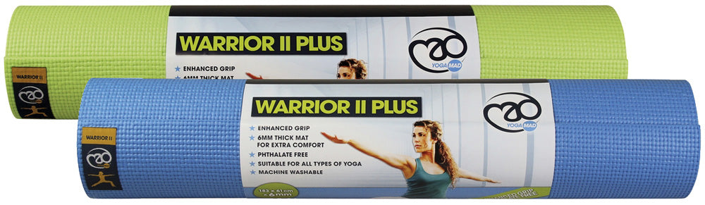 Yoga-Mad Warrior II Plus Mat 6mm